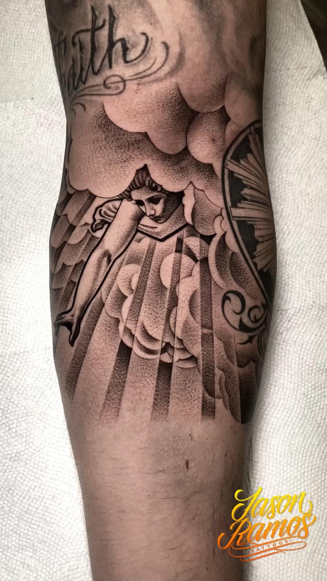 Angel Tattoo // Tatuaje de Angel - JasonRamosTattoos