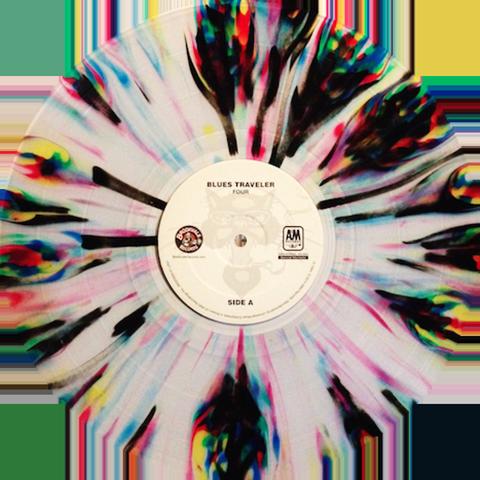 Blues Traveler Four Vinyl Record Art Vinyl Art Paint Vinyl Painted