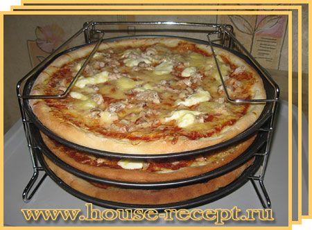 рецепт пицца пошагово с фото