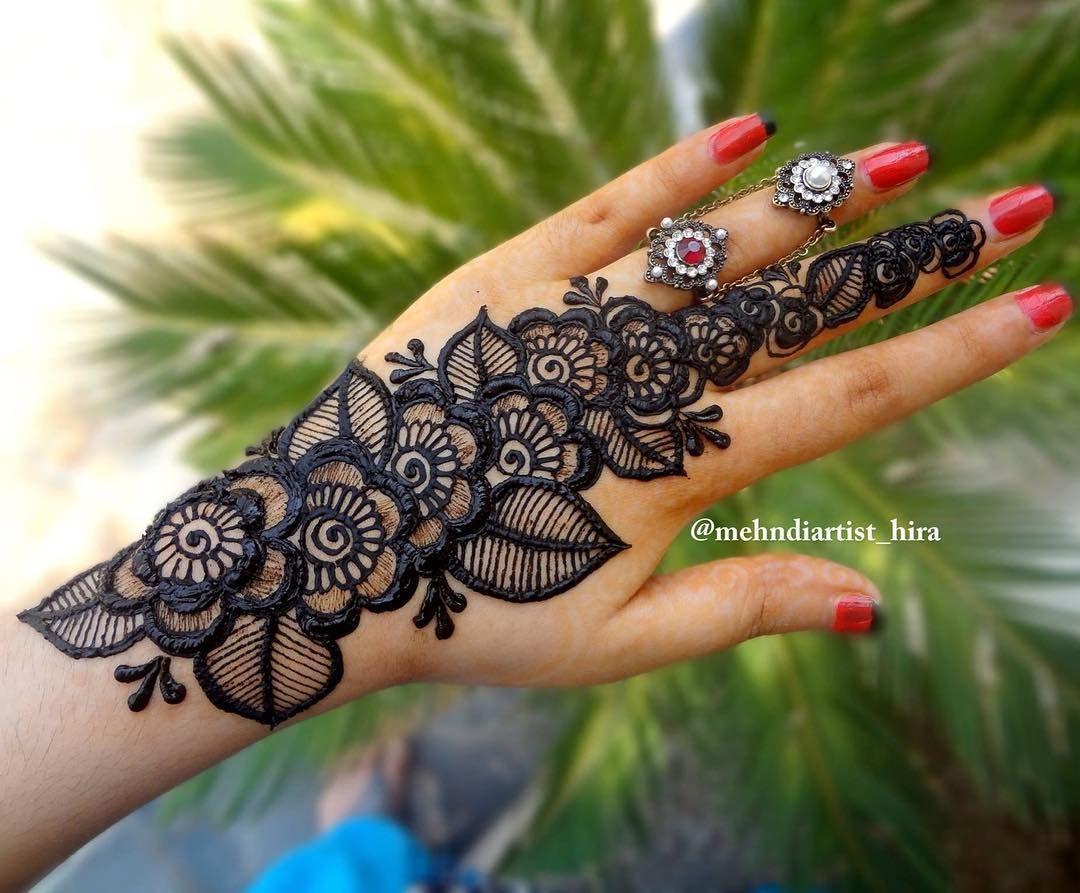 Henna Mehndi Love : Henna strip in my style ❤️tutorial➡️youtubemehndiartiat hira