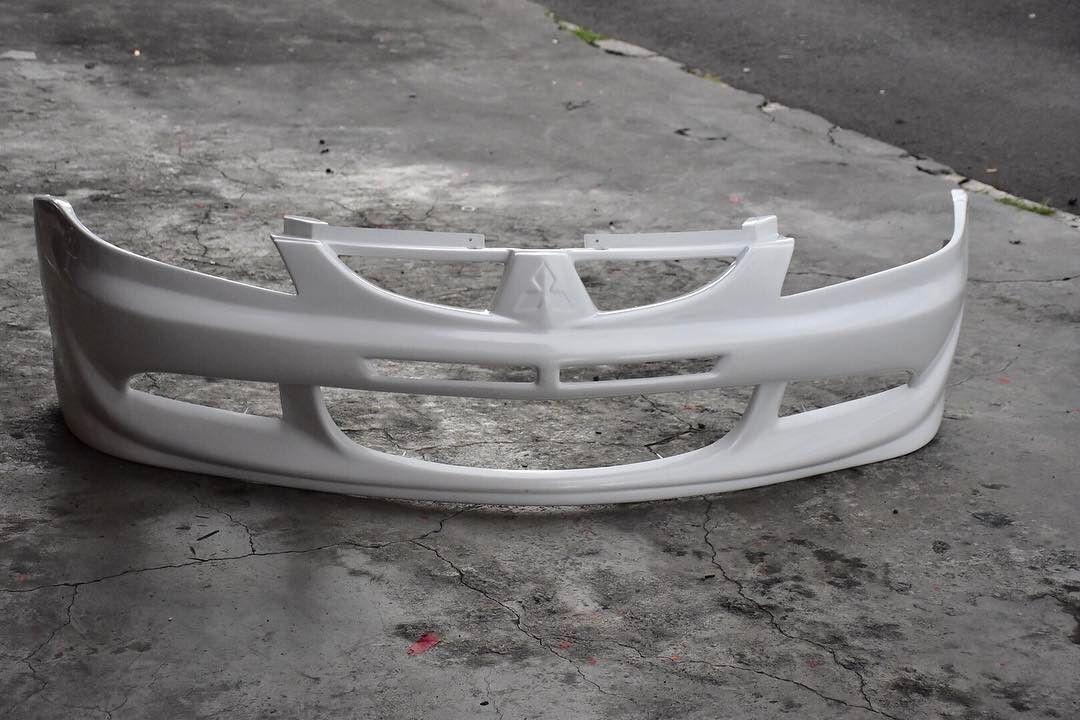 Plastic Front Bumper For Mitsubishi Lancer Glx 03 08 Evo Style Mitsubishi Lancer Lancer Mitsubishi
