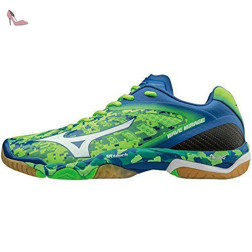 Vertblancbleu Wave Chaussures Mizuno Wave Mirage Mirage Chaussures Mizuno CwqBR0HR