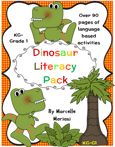 Dinosaur Activity Theme Pack - center games, activities, worksheets- 168 full pages or adaptable, color and printer friendly activities- All the tools can be adapted to individual needs- print as many or as little as you want- many choices are offered here. This is ONE preview of many for this package. http://www.teacherspayteachers.com/Product/Dinosaurs-Theme-PackCenter-games-Literacy-Math-Science-Art-Worksheets-1082934