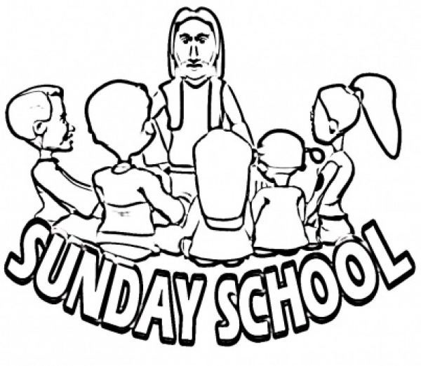 sunday school lessons coloring pages-#28