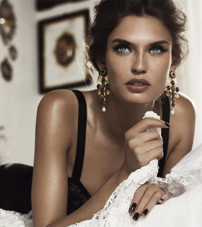 Bianca Balti: Bianca Balti Gets Motherly for the Dolce & Gabbana Baby Fall 2012 Campaign by Giampaolo...
