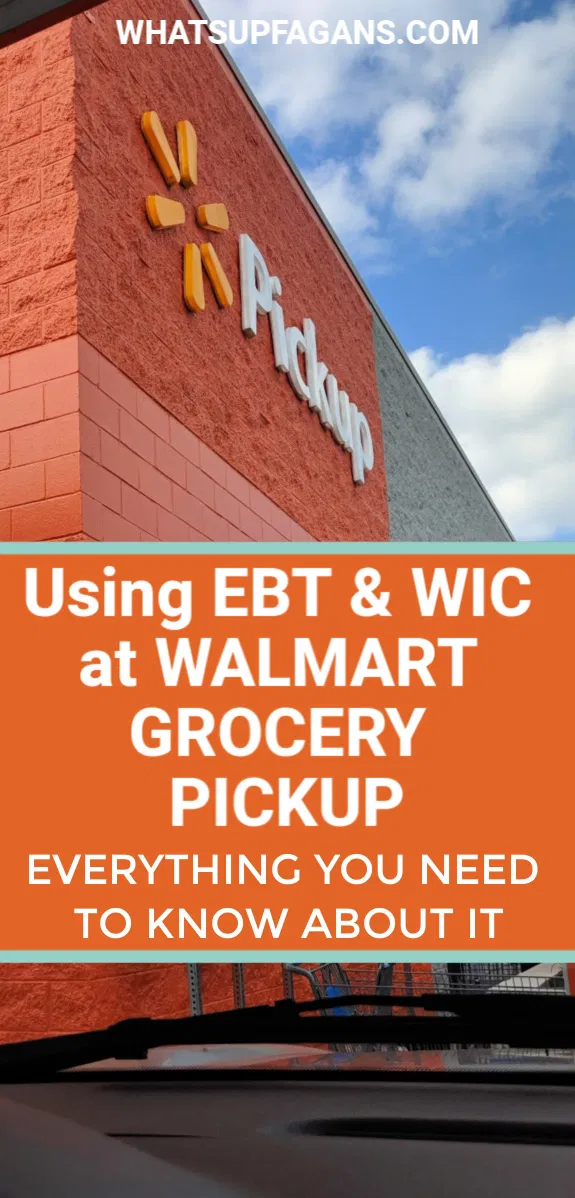 Everything To Know About Using Ebt With Walmart Grocery Pickup In 2020 Walmart Grocery Pickup Food Stamps Ebt Food Stamps