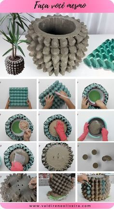 Te enseñamos 10 maneras de cómo reciclar los cartones de huevo