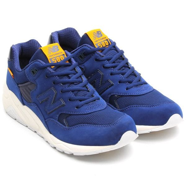 Discount New Balance MRT580AB REV Lite Deep Blue Mens NB-580 Sneakers For  Males/