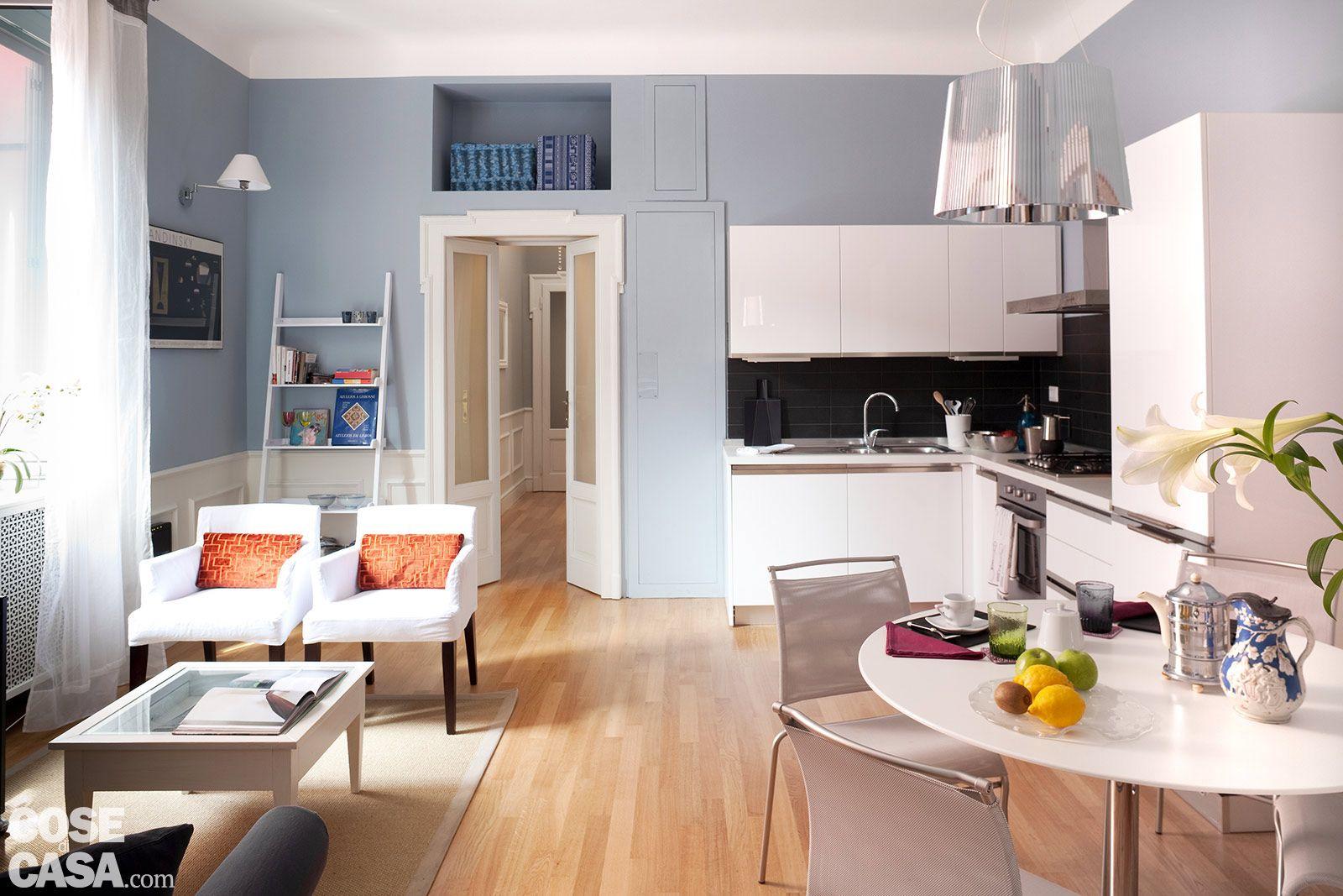 come disporre cucina soggiorno - cerca con google | arredamento ... - Arredamento Piccolo Soggiorno Con Angolo Cottura
