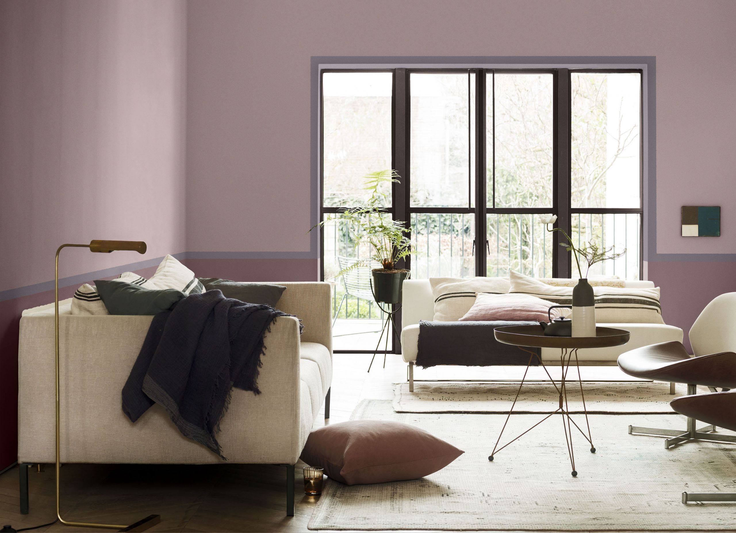 Want To Design A Modern Living Room Why Not Try Colour Blocking