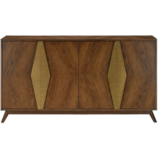 Arren Credenza Design By Currey U0026 Company ($6,490) ❤ Liked On Polyvore  Featuring Home