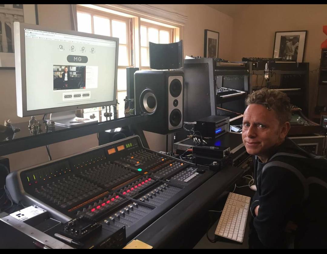 April 2015...the master in his studio