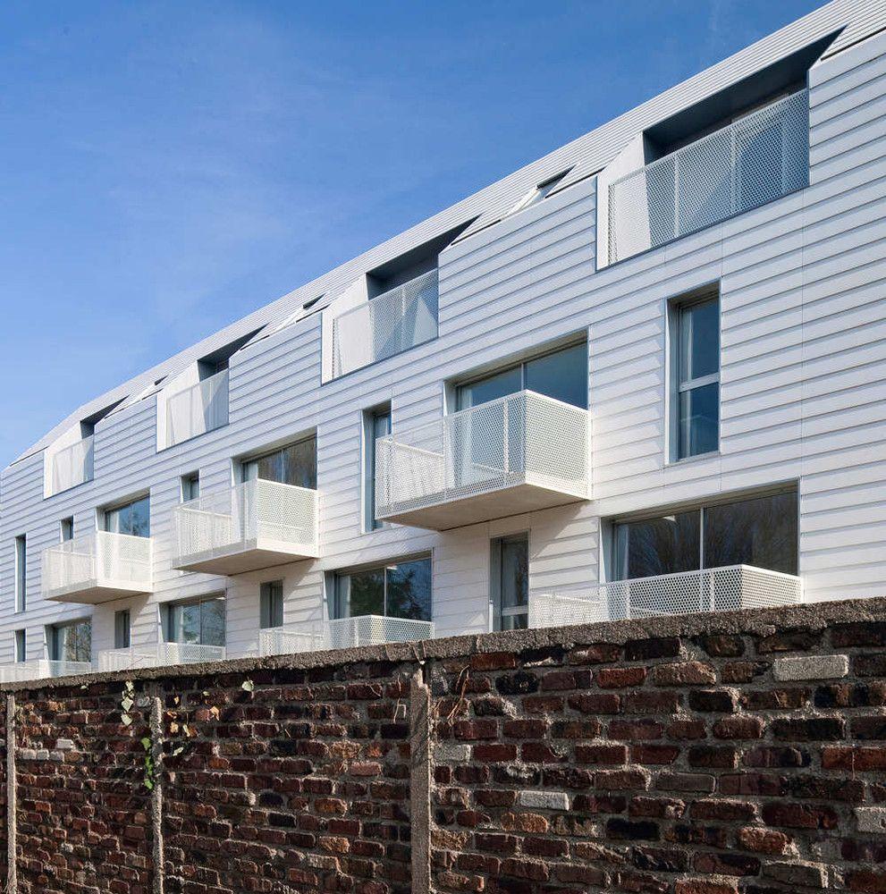 Gallery Of 34 Social Housing Units In Bondy / Atelier Du