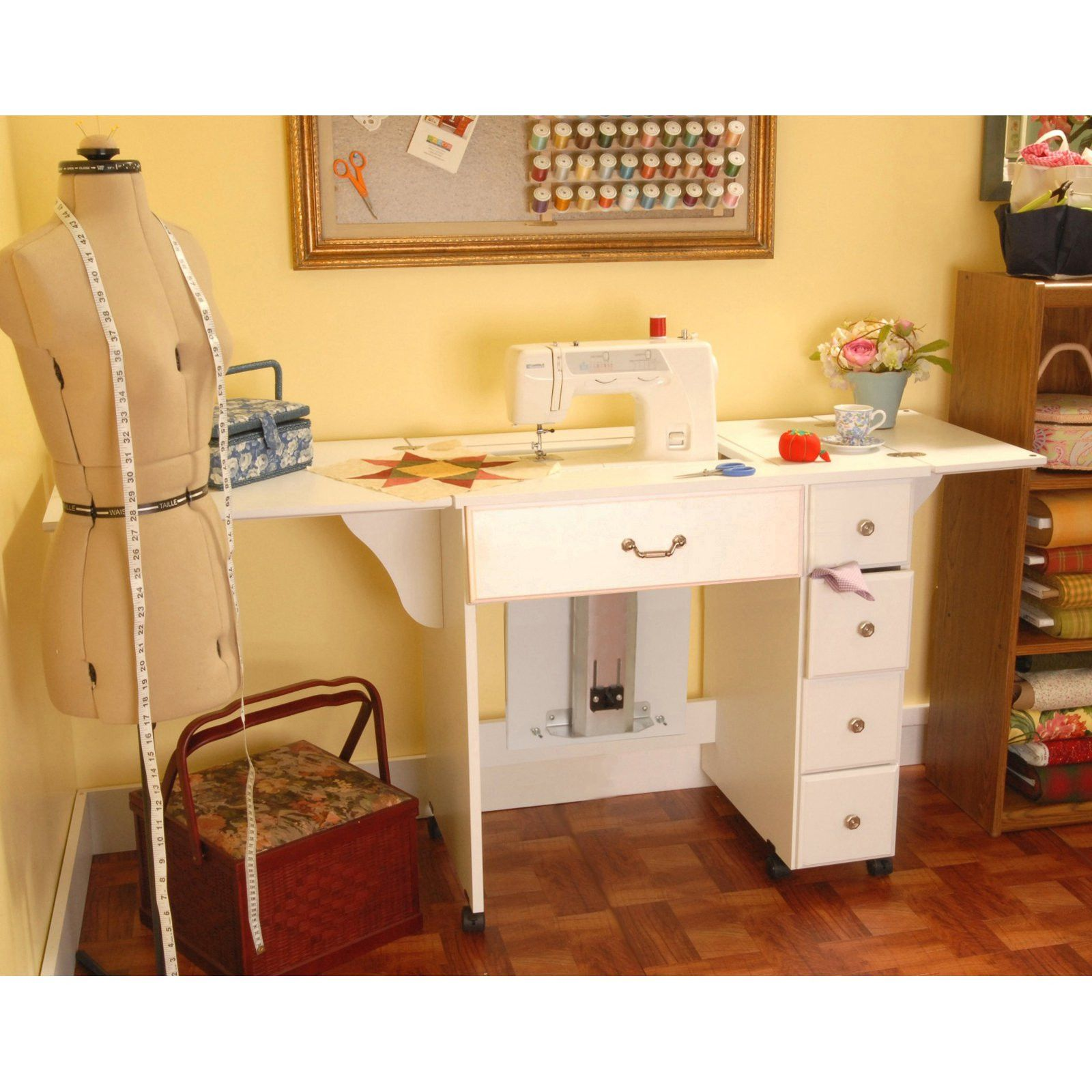 77 Sewing Machine Cabinets With Air Lift Kitchen Cabinet Inserts Ideas Check More At