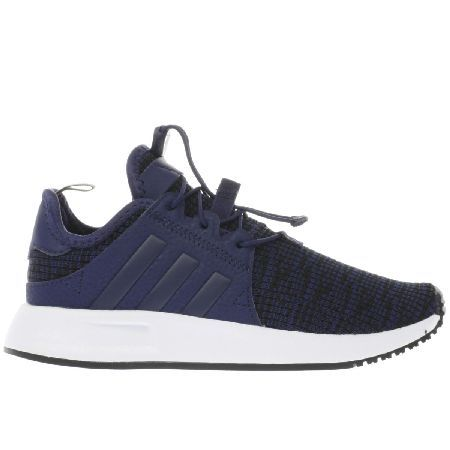 #Adidas navy x_plr c boys junior #adidas give the kids a chance at first  place this season as they downsize the X_PLR C running shoe. This progress…