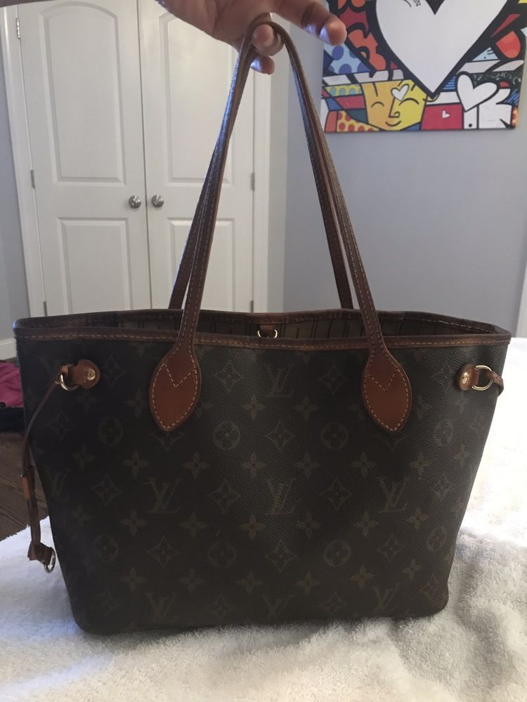 c47893761b68 US Seller Louis Vuitton Tote Bag Neverfull PM M40155 Brown Monogram 324763   fashion  clothing