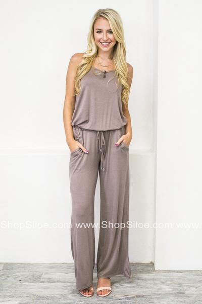 08917b8befd2 Every woman has to have a basic jumpsuit in her life. It s a staple that  you can t afford to not have! This sleeveless jumpsuit features a scoop  neck