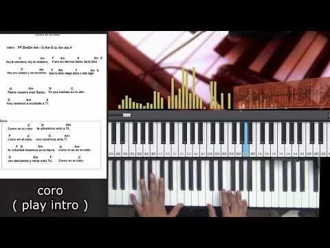 Tutorial Piano Como En El Cielo Piano Songs Tutorials Pinterest
