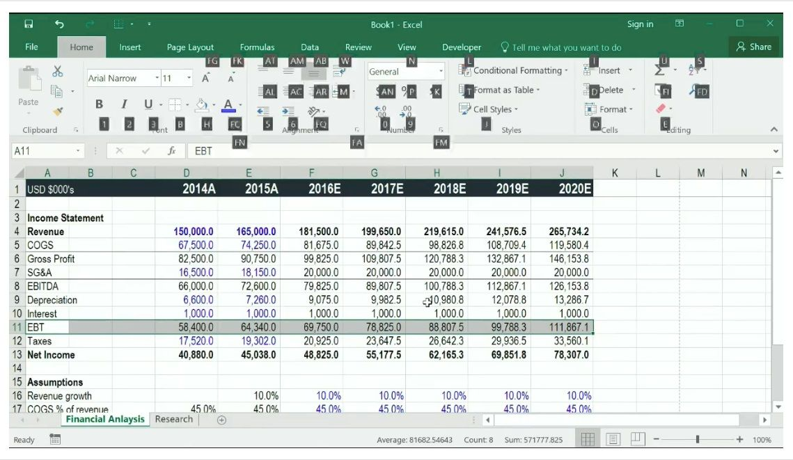 Excel Tutorial You Will Learn All The Tips Tricks Shortcuts Functions And Formulas You Need To Be A Power User This Fre Excel Tutorials Excel Crash Course