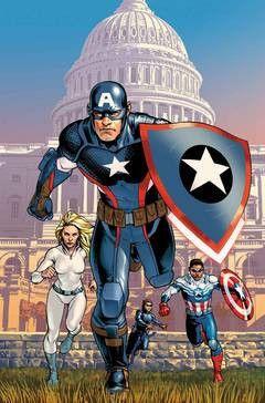 CAPTAIN AMERICA STEVE ROGERS #1 - Maverick Comics - The Best Online Comic Book Shop