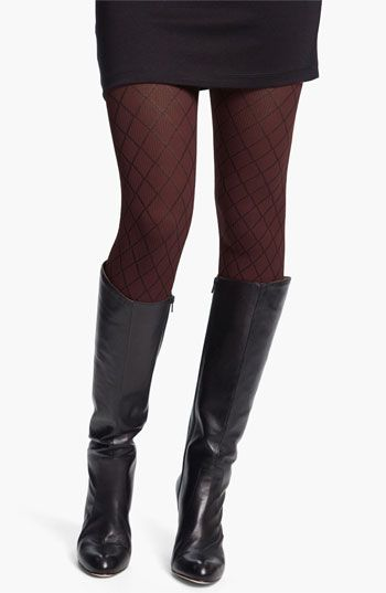 231cd581c59e7 DKNY Diamond Texture Tights | Nordstrom | My Fashion My Style This ...
