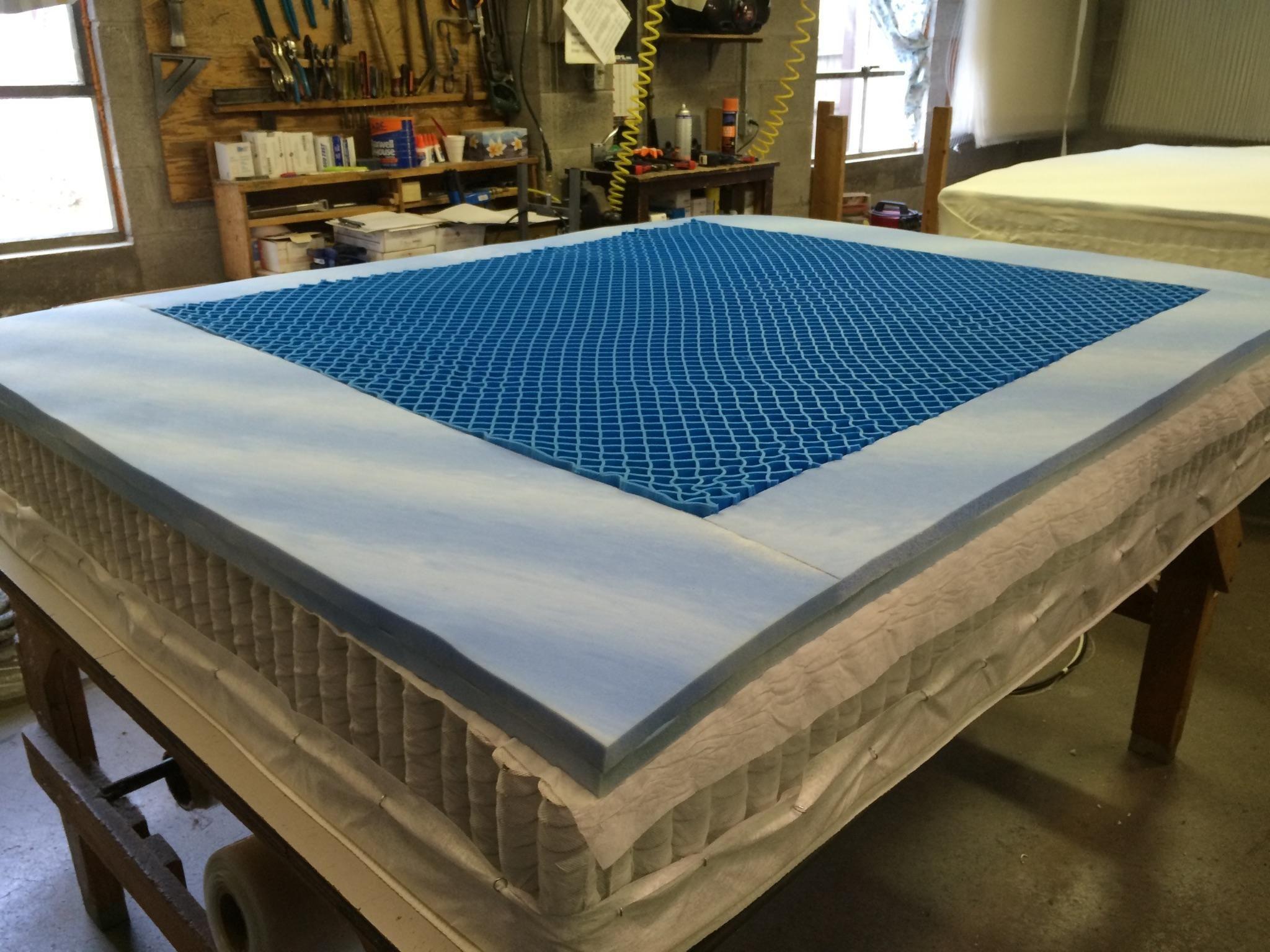 SomniGel with G Flex gel foam Mattress ponents