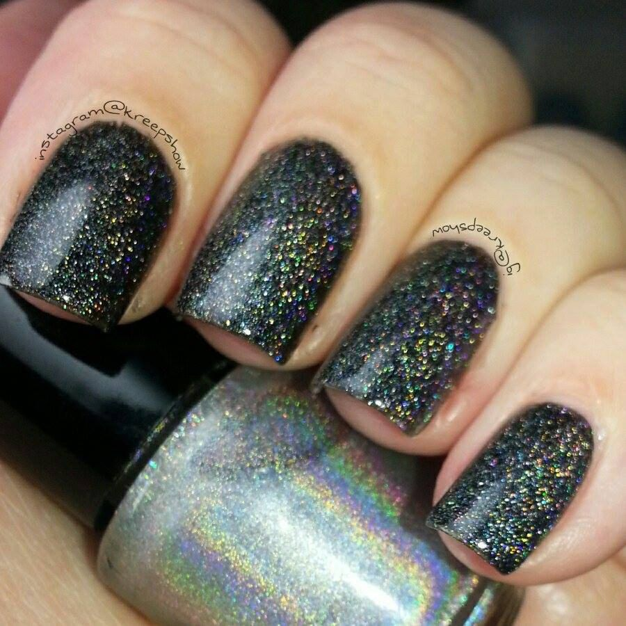 Indie Polish - Holographic top coat - Large bottle - Handmade, $5.00 (http://www.myindiepolish.com/holographic-top-coat-large-bottle-handmade-1/)