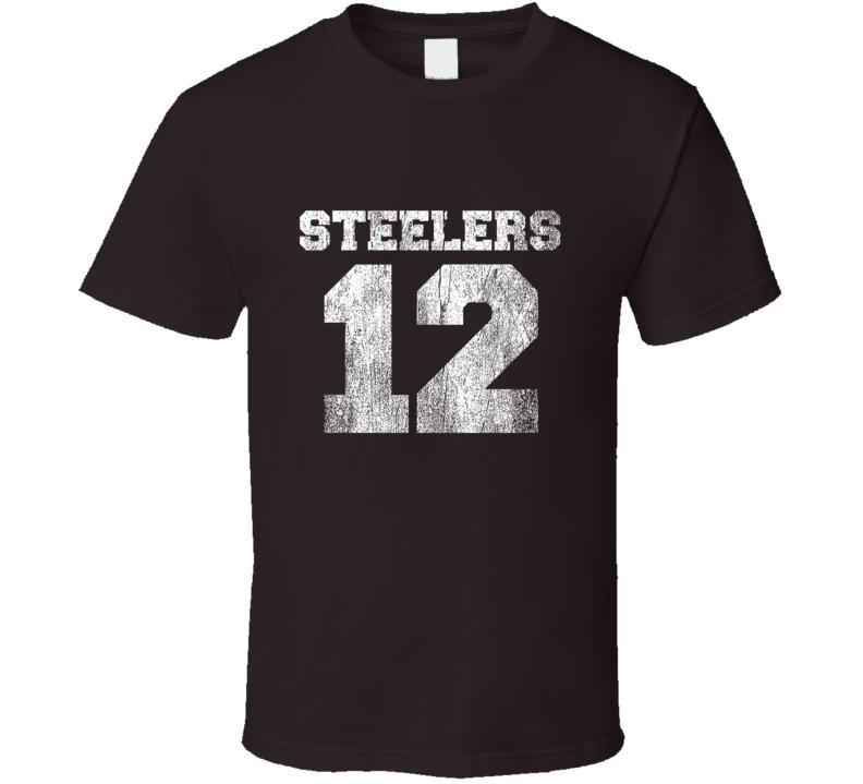 online retailer ecc83 2f4d1 This Is Us Show Rebecca Pearson Steelers 12 Fan T-shirt ...