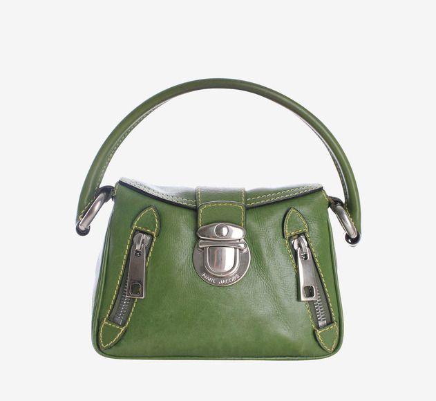 Marc Jacobs Green And Silver Handbag
