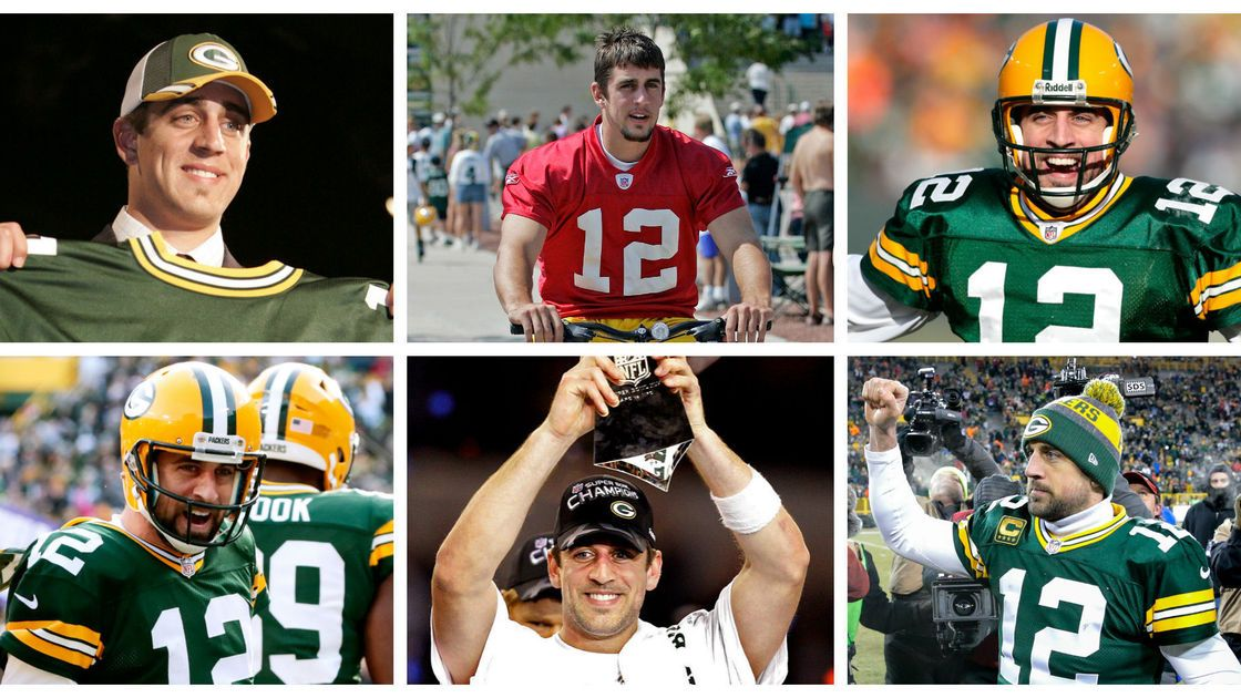 Aaron Rodgers From babyfaced draft pick to NFL MVP — in