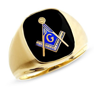 Men S Onyx Masonic Ring In 10k Gold Masonic Rings Jewelry Masonic Ring Masonic Jewelry