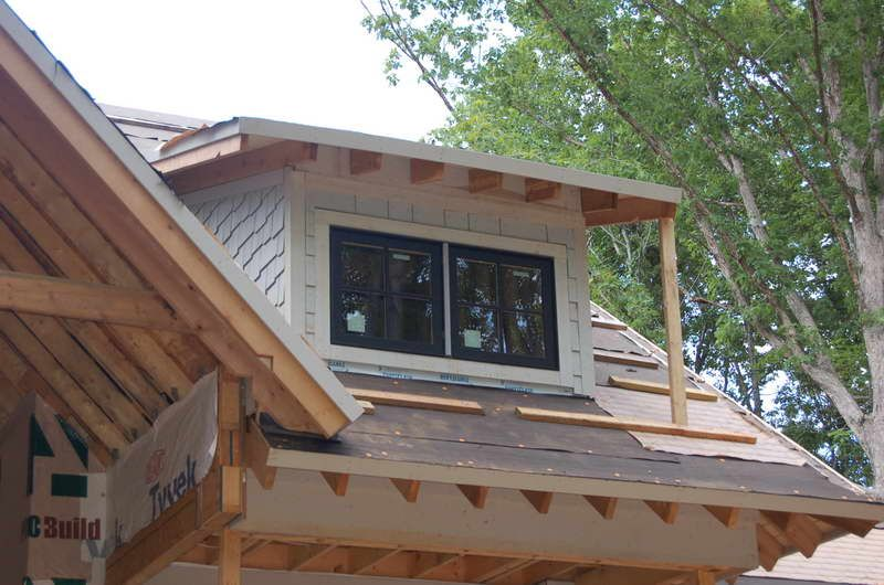 how to build a shed roof dormer Google Search (With