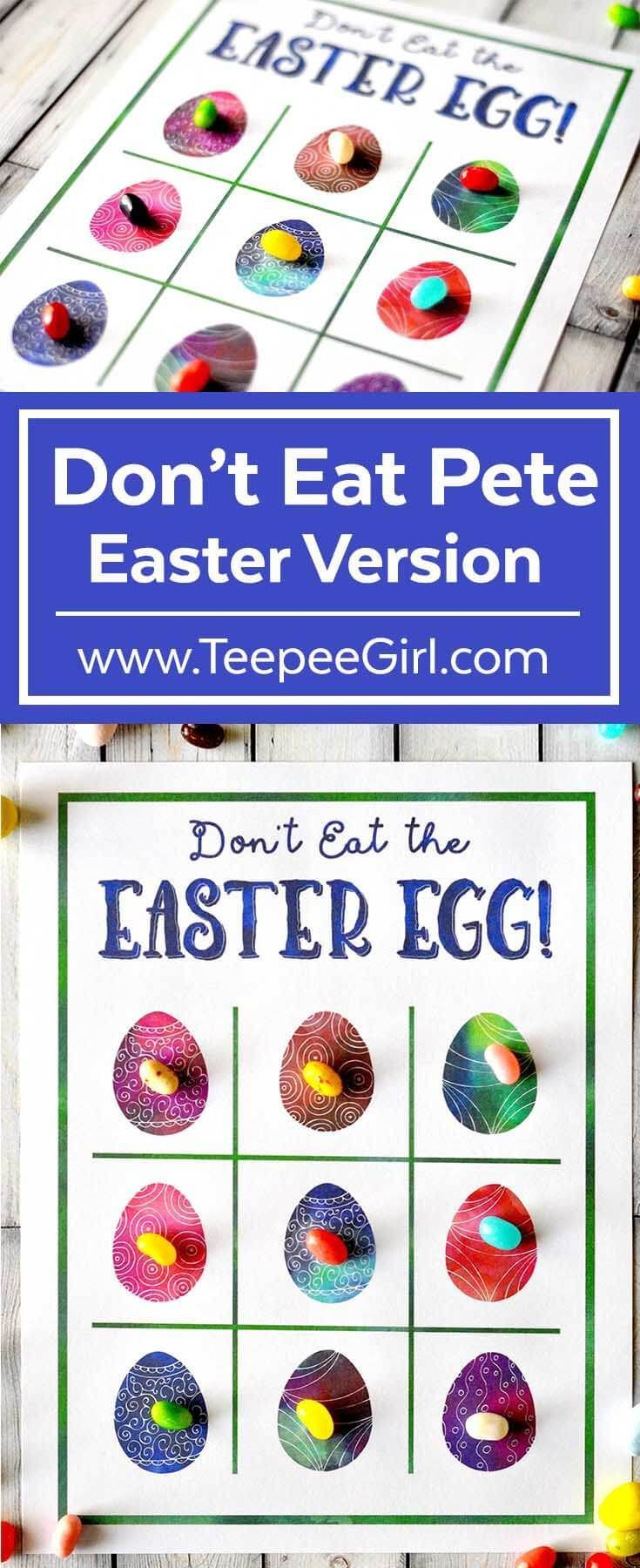 Don't Eat PeteEaster version from