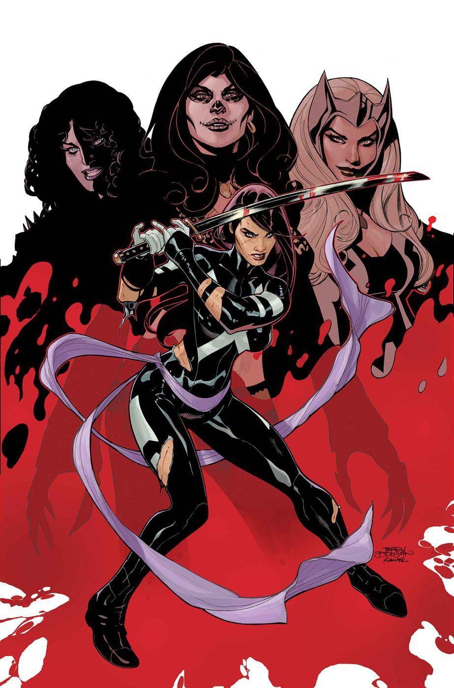 Comics Continuum Psylocke X Men Marvel