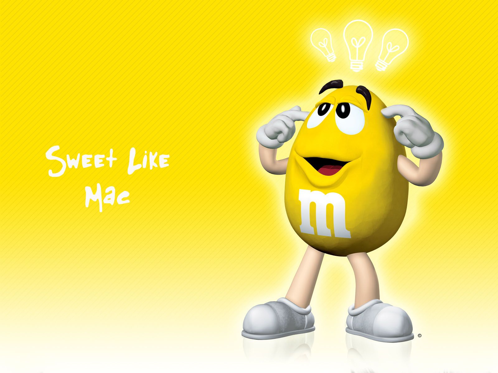 All M M Candy Characters Apple Background Wallpapers M