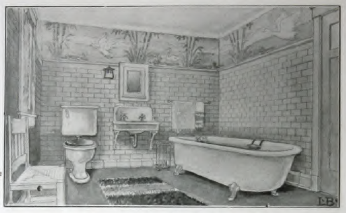 1910 Bathroom From Quot The Bungalow Book Quot By Henry L Wilson