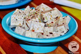 Queijo de Avelãs com Alho e Ervas ~ Hazelnut Garlic Herb Cheese