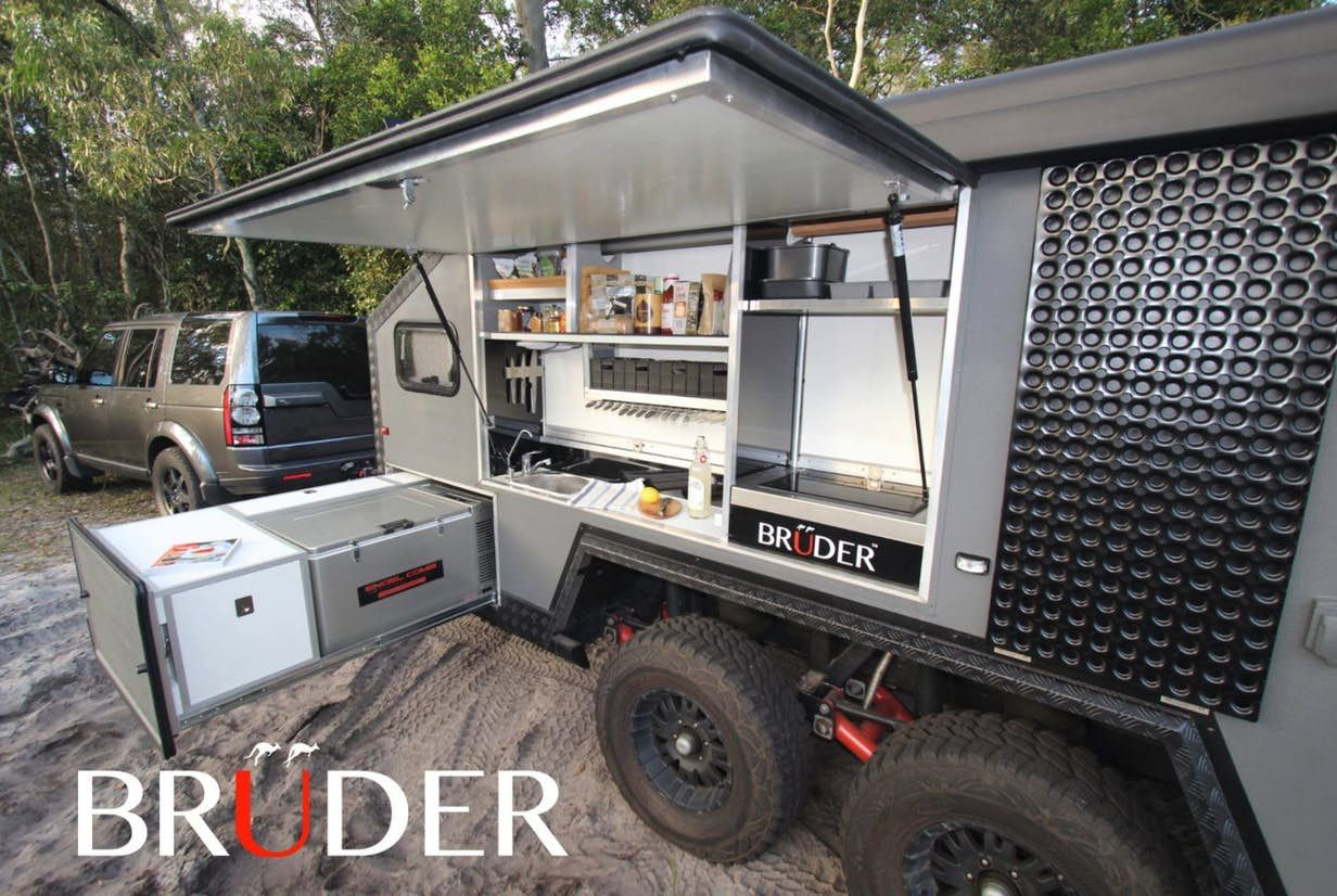 Outdoor Anhänger Bruder Exp 6 Trailer Brings A Touch Of Luxury To The Muddy
