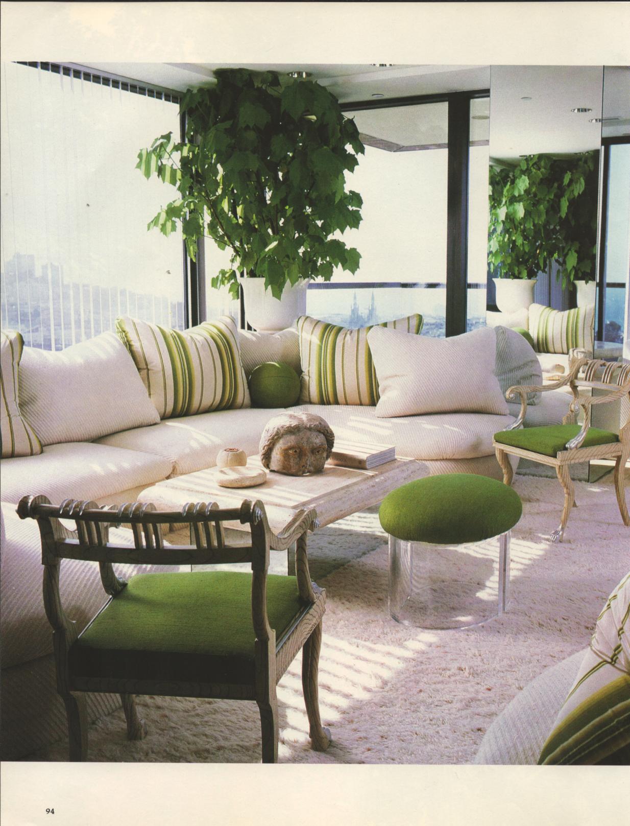 Vintage San Francisco Condo Gentrification Architectural Digest - Vintage furniture san francisco