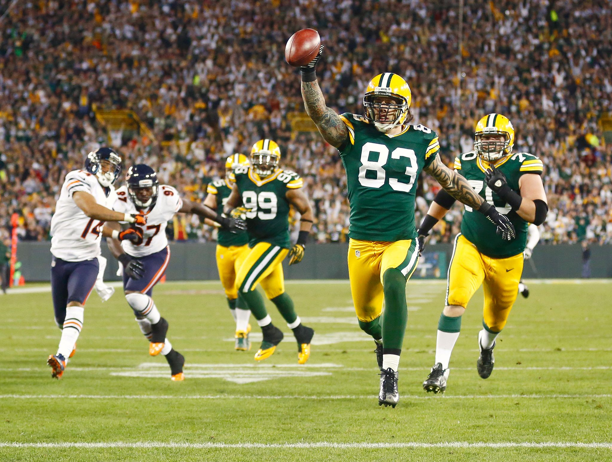 Photos Of The Day September 14 2012 Green Bay Packers Football Green Bay Packers Football