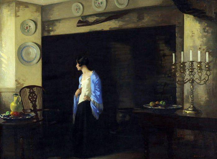 Archibald George Barnes ~ (Canadian: 1887-1974)   Peintre ...