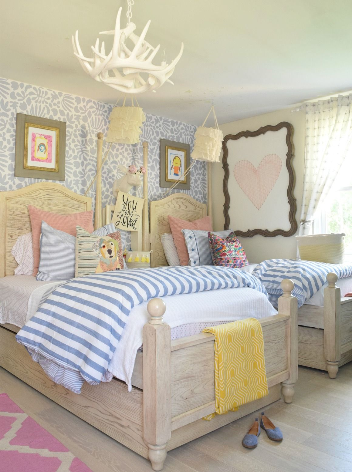 Dormitorios De Niña Decoracion Summer Home Tour And Seasonal Decor Changes Decoration