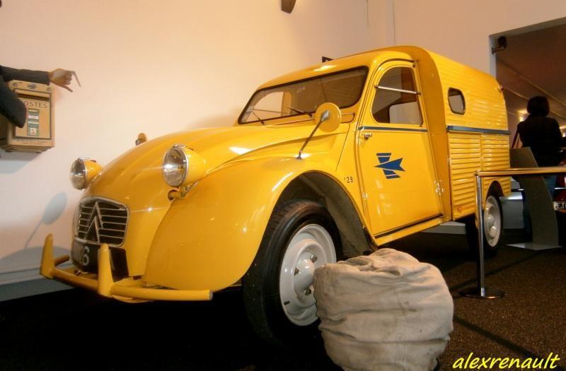 2 Cv La Poste Musee Matra Source Alexrenault Auto