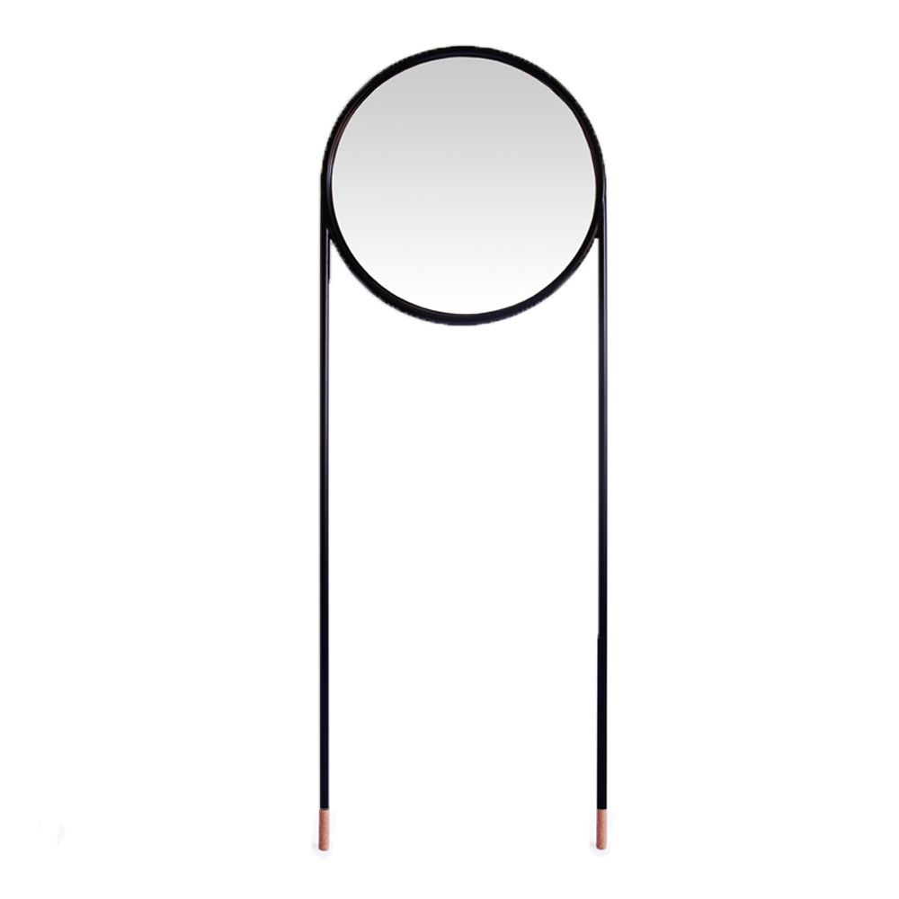 Heal's Stilts Circular Mirror. Exclusive to Heal's, this distinct mirror has been beautifully hand made in Spain.