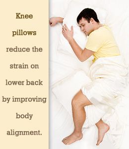Benefits Of Sleeping With Pillow Between Knees Benefits Of Sleep Physiological Facts Health Info