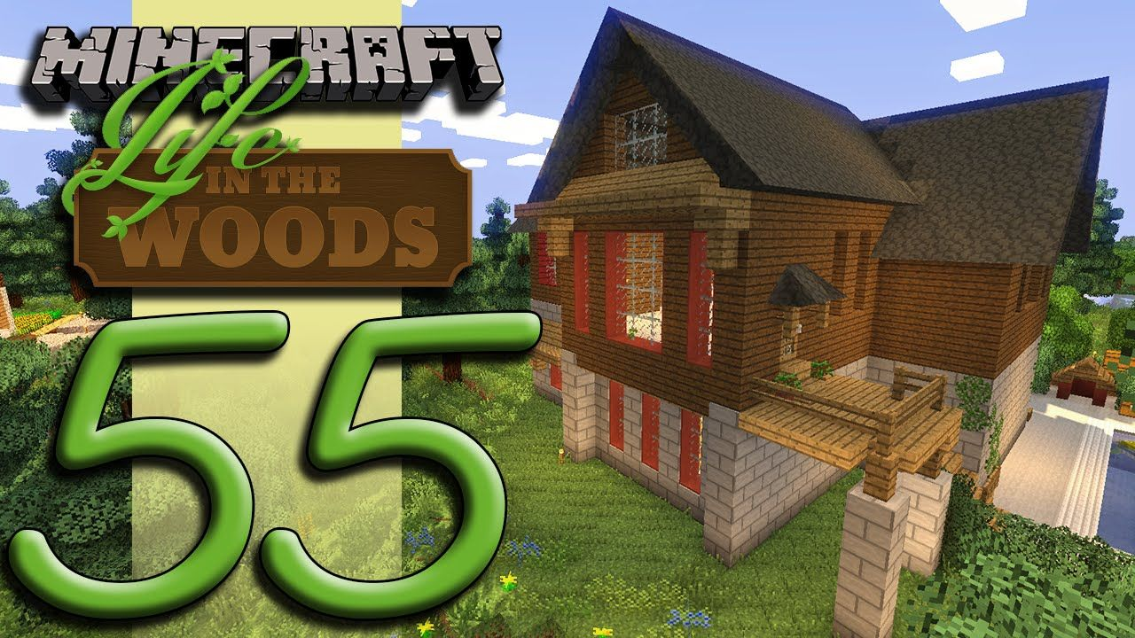 Minecraft Life In The Woods Ep55 Home Improvement Closet