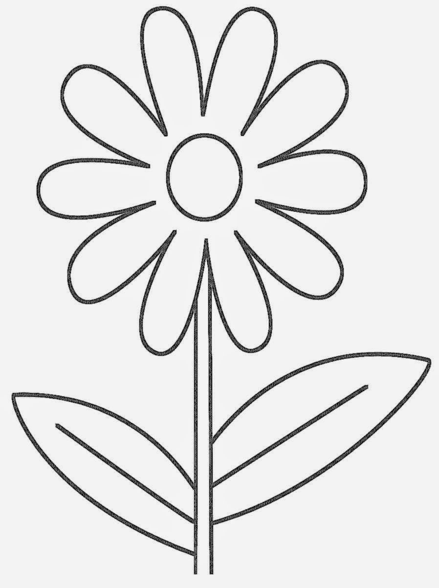 coloring page simple flower HD Wallpapers | Girl Scouts | Pinterest ...