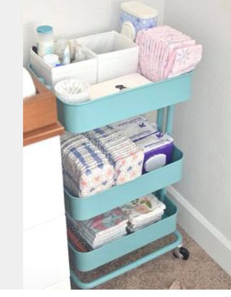 10 Usos Del Carrito Raskog De Ikea Sindesorden Habitacion Bebe Ikea Muebles Para Bebe Decorar Habitacion Bebe