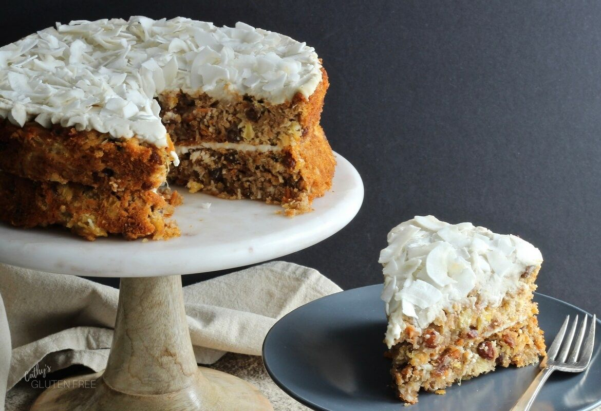 Carrot Cake with Pineapple and Coconut Recipe Coconut