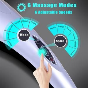 4 in 1 electric neck massager hammer massage back relax